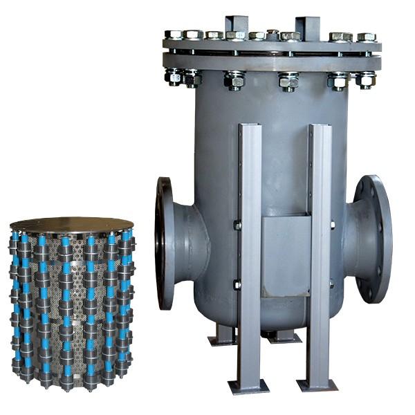 Фильтр сетчатый магнитный вертикальный МВС КЕМА ФТМ-125